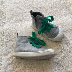 Fun high top sneaker